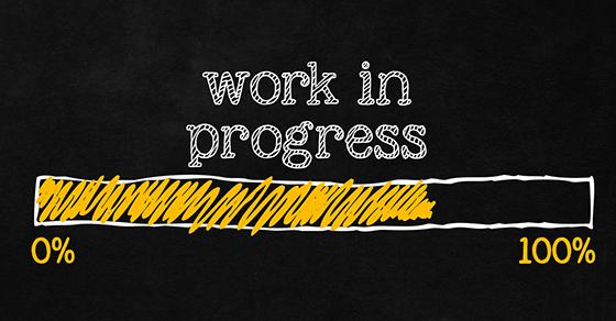 Work in progress loading bar